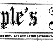 Banner Peoples Advocate,  02-07-1880