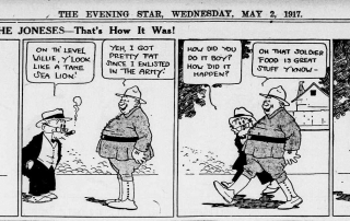 Humor from May 2nd 1917 Evening Star