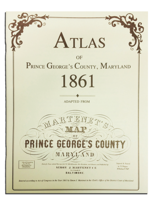 PG County MD Atlas 1861