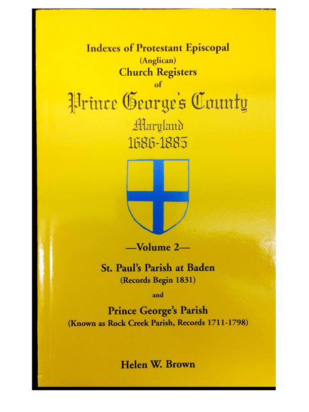 Church Registers Volume 2